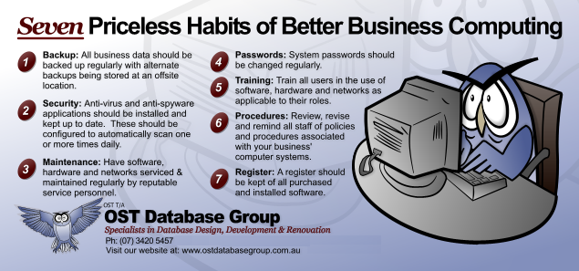 Seven Pricelass Habits of Better Business Computing