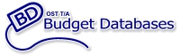Budget Databases - Database Development